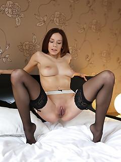 Pantyhose Brunette Pics
